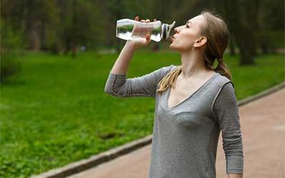 Does drinking water help to relieve Chronic fatigue syndrome?